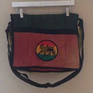 Messenger bag lion of Judah
